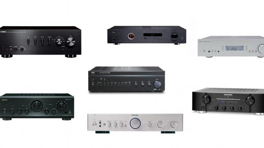 7 stereoforsterkere