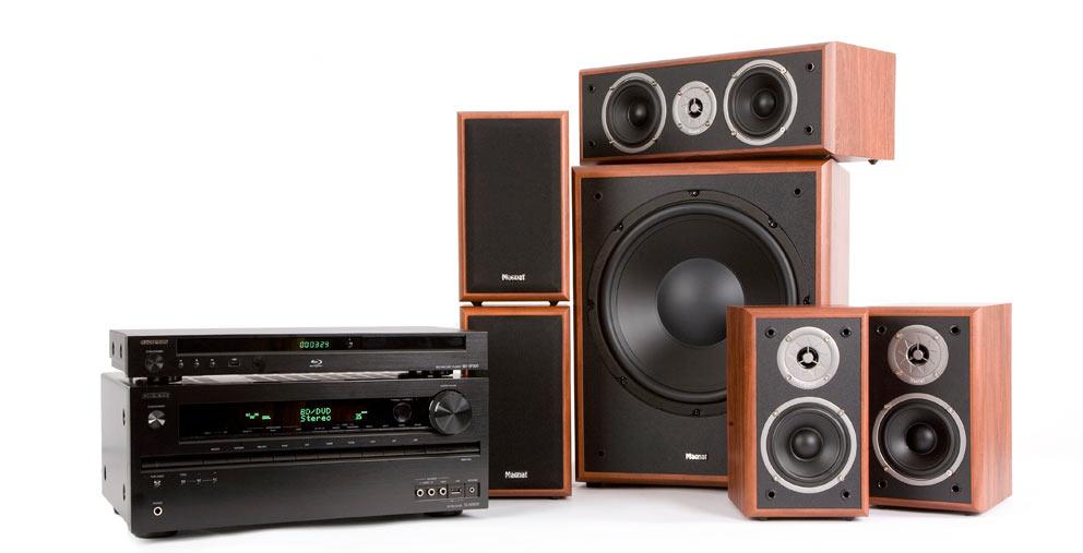 Magnat Monitor og TX-NR509/BDSP309