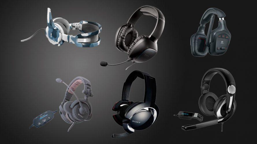 6 gaming hodetelefoner