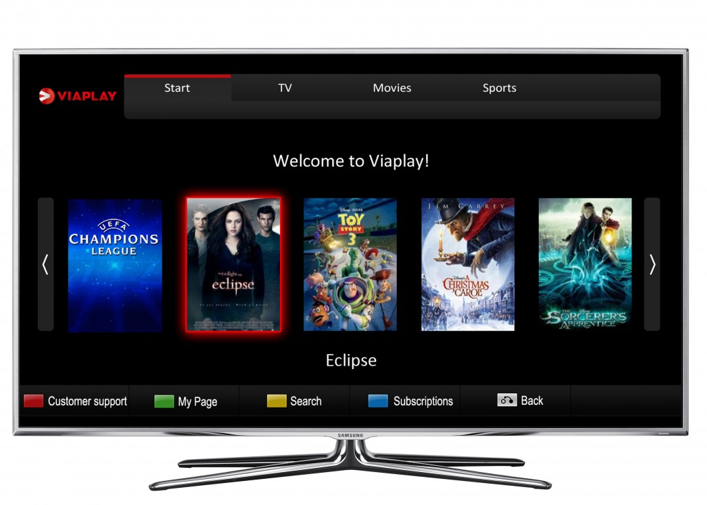 Viaplay app samsung tv
