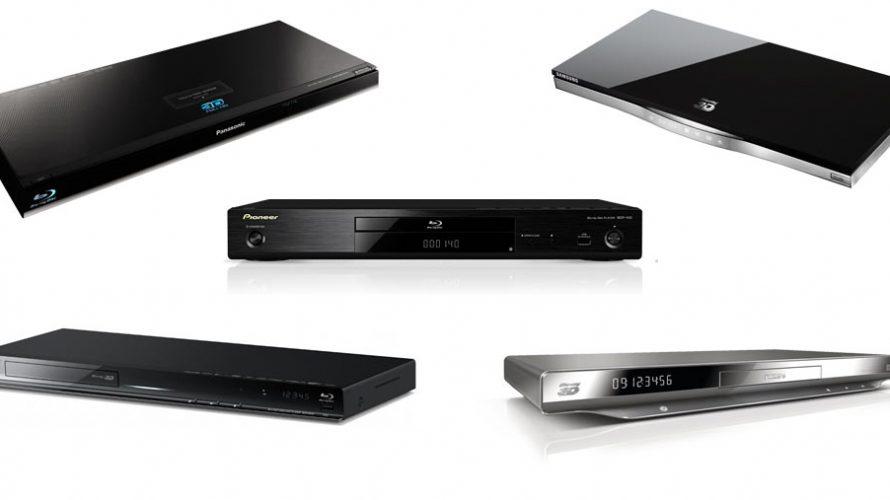 5 3D Blu-ray spillere