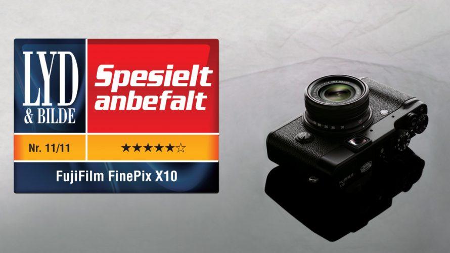 FujiFilm X10 kompaktkamera