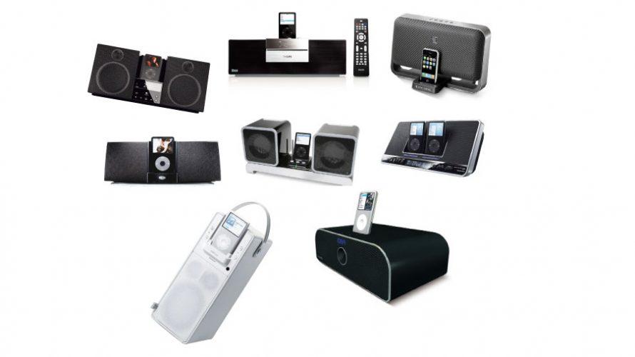 8 iPod-høyttalere