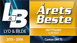 Canton DM75 Lydsokkel ÅRETS BESTE