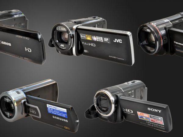 5 HD videokameraer