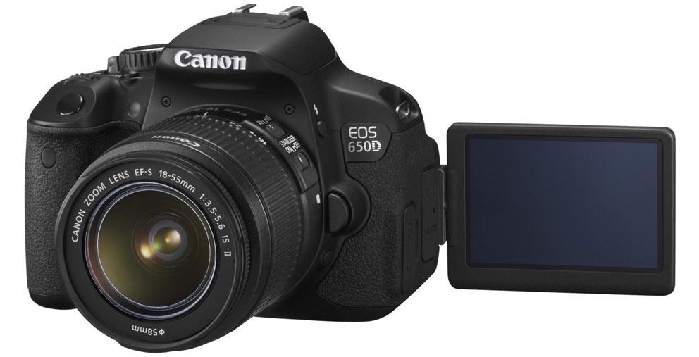 Canon EOS 650D m18 135mm IS STM objektiv Systemkamera