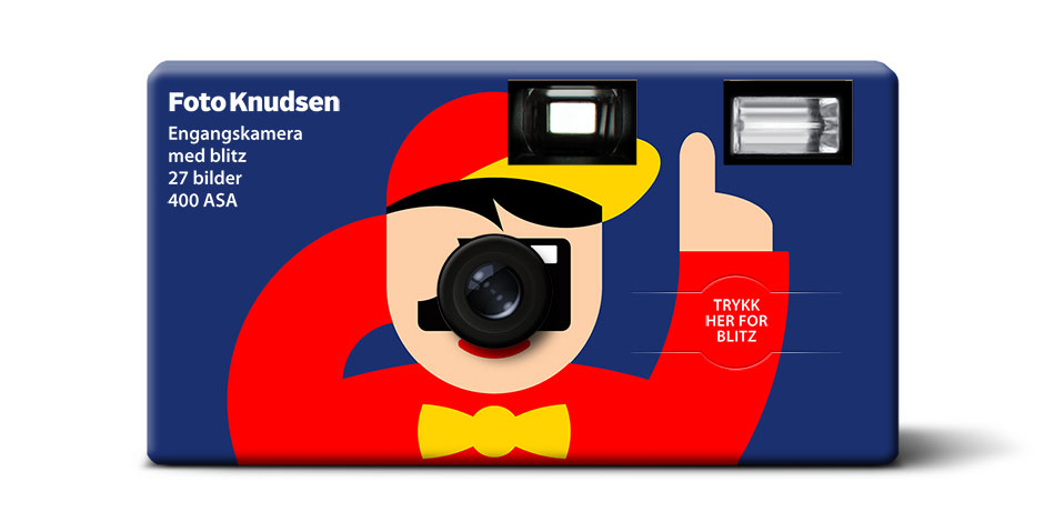 Fotoknudsen kamera