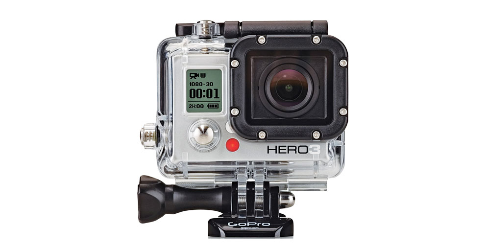 gopro hd hero3 silver edition lyd bilde. Black Bedroom Furniture Sets. Home Design Ideas