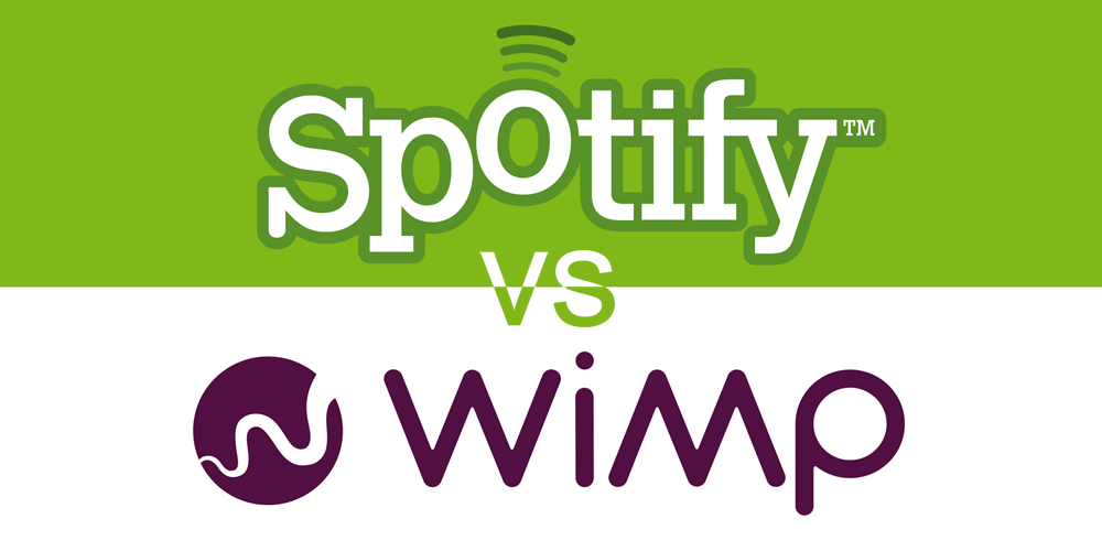 Spotify vs Wimp