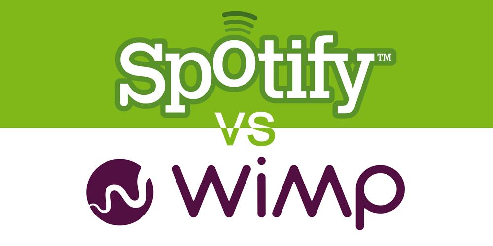 Spotify vs Wimp