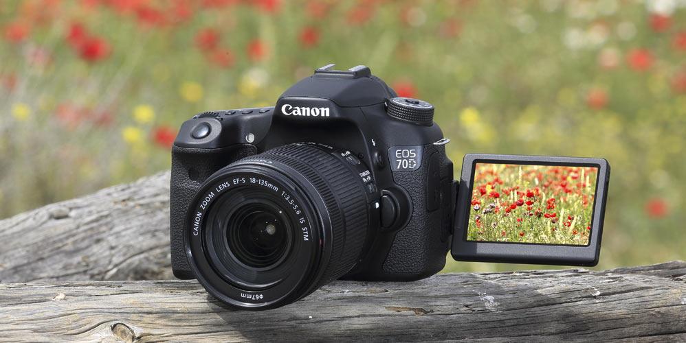 Canon EOS 70D Hus Speilrefleks Komplett.no