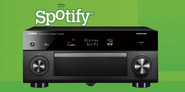Yamahas receivere får endelig Spotify!