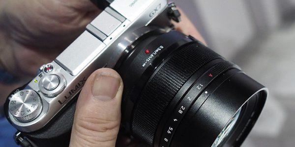 Lyssterkt Leica-objektiv til mFT-kameraer