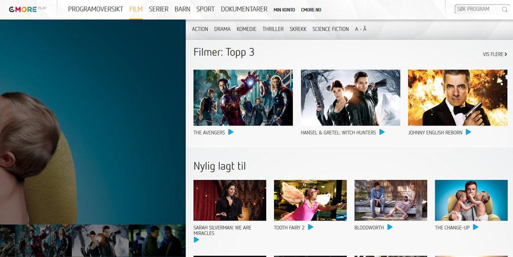 www.cmore tablå