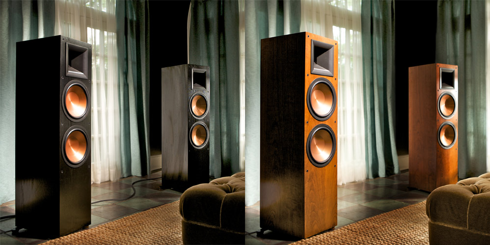 klipsch rf 7 ii lyd bilde. Black Bedroom Furniture Sets. Home Design Ideas