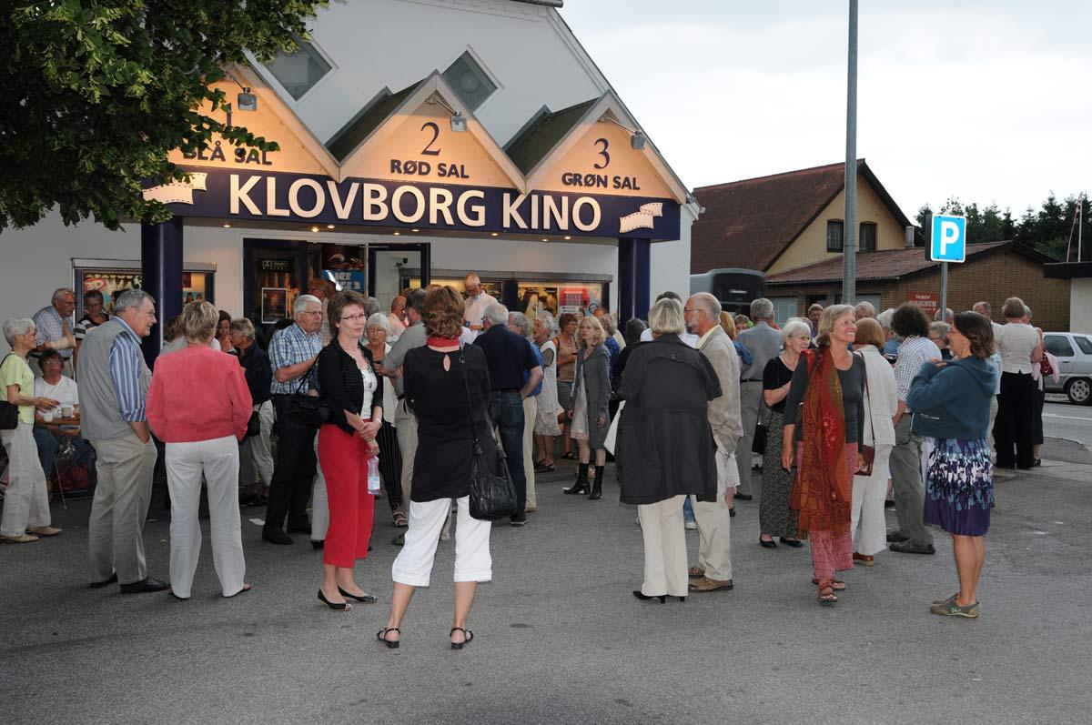 Ca hver annen måned får Klovborg sitt eget operahus. Da sendes det live til kinoen fra de største operahusene i Europa. (Foto: Steen Rasmussen)