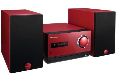 Pioneer_X-CM32BT_rød