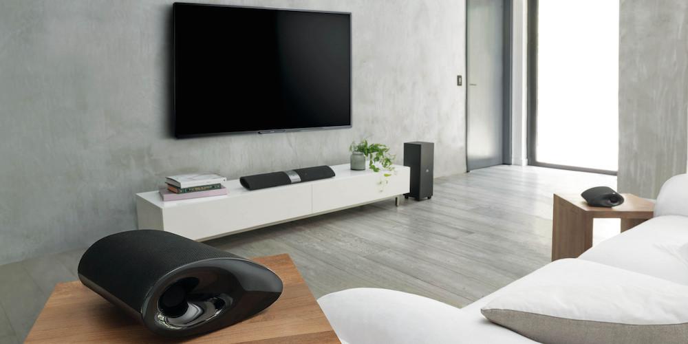 Fleksibel lydplanke fra philips lyd bilde for Best bluetooth speaker for living room