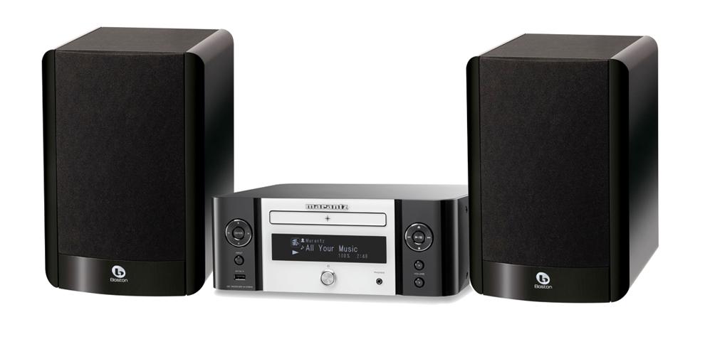 Marantz M CR610 Og Boston Acoustics A 25