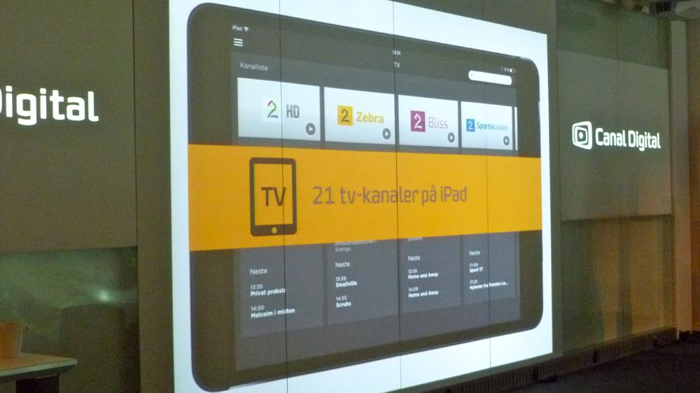 Canal Digital på iPad - Lyd & Bilde