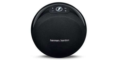 Harman-Kardon-Omni-10-Black-Front-View
