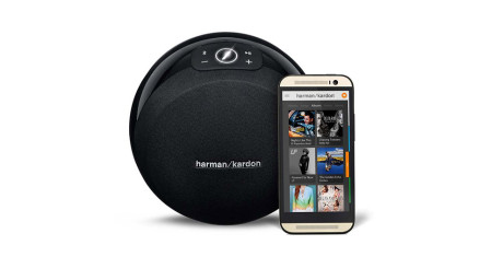Harman-Kardon-Omni-10-Black-Front-View-w-Phone