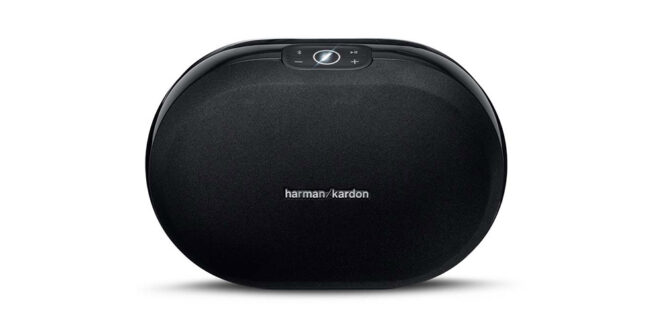 Harman-Kardon-Omni-20-Black-Front-View