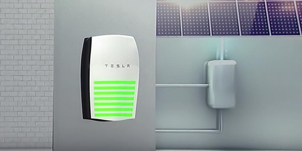 Tesla batteripakke