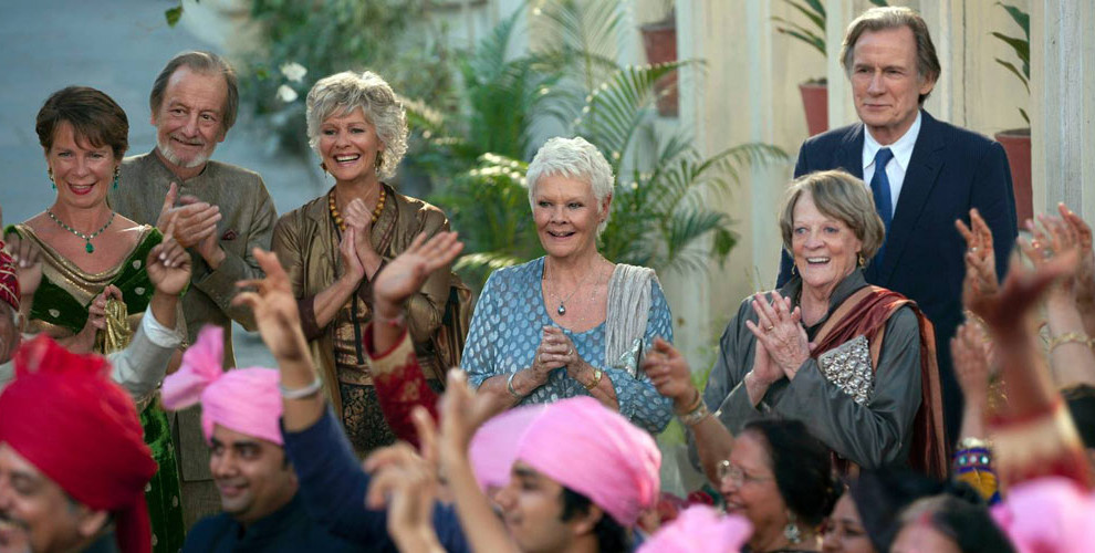 The second best exotic marigold hotel lyd amp bilde