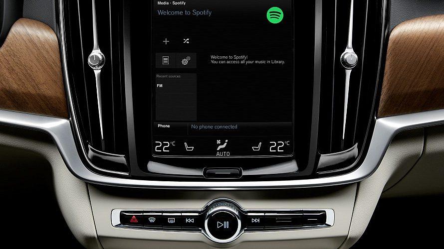 Volvo får Spotify