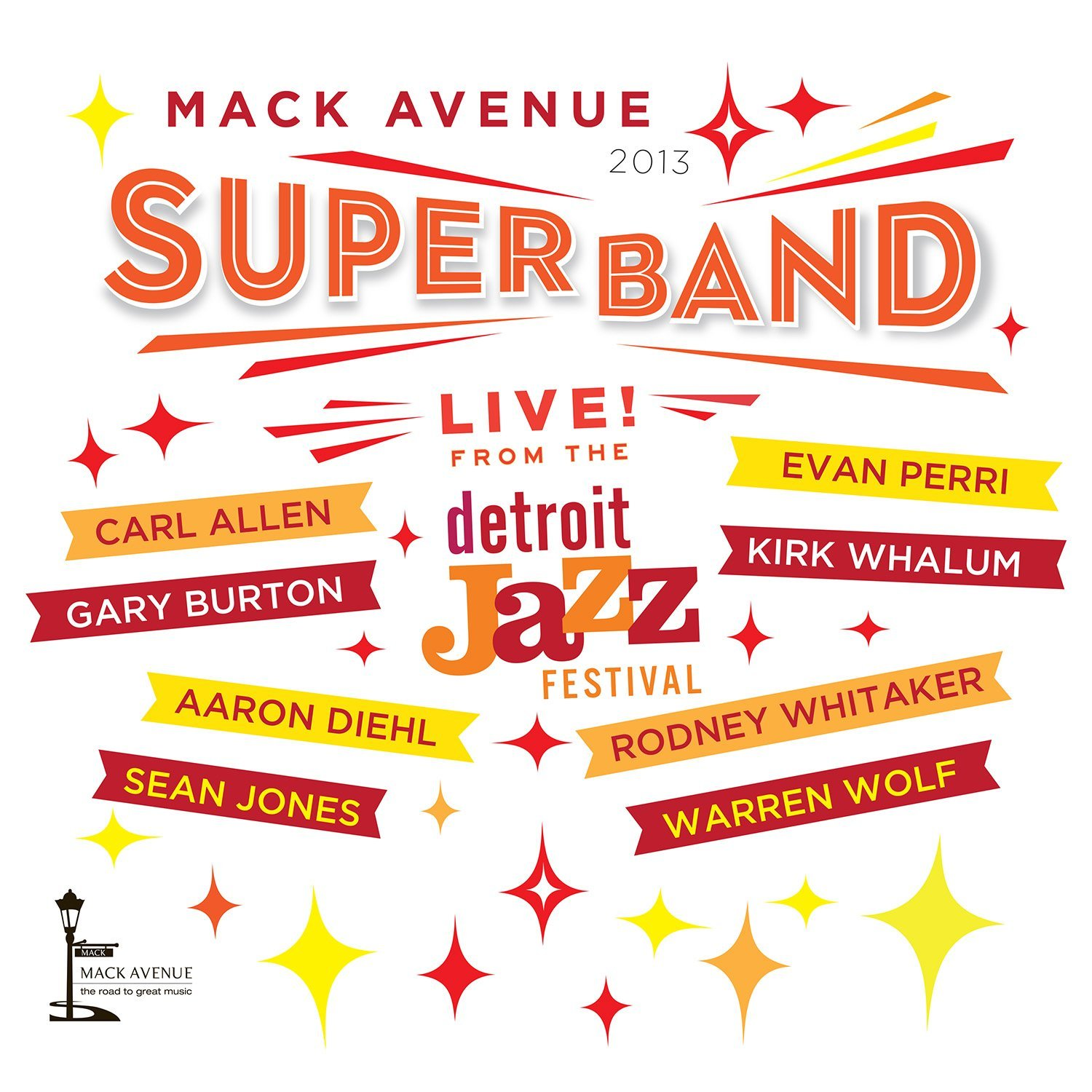 Mack Avenue Superband, Live from the Detroit Jazz Festival 2013.