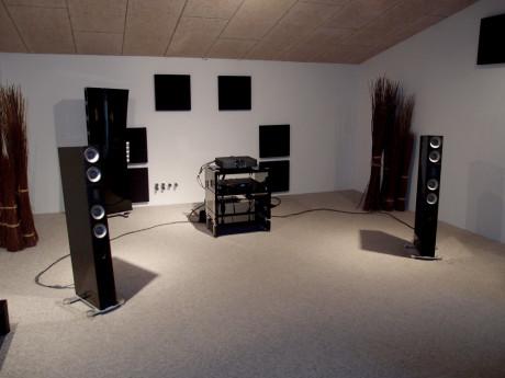 Det ble fantastisk musikk i lytterommet i Pandrup. Foto: Geir Gråbein Nordby
