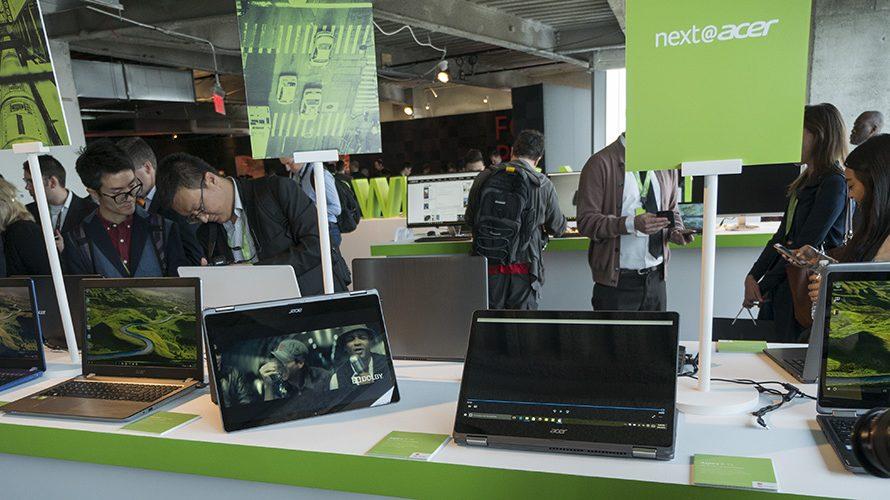 Luksuriøse laptoper fra Acer