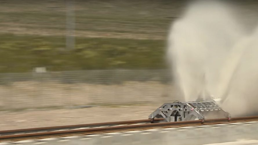 Hyperloop har kjørt sin første tur