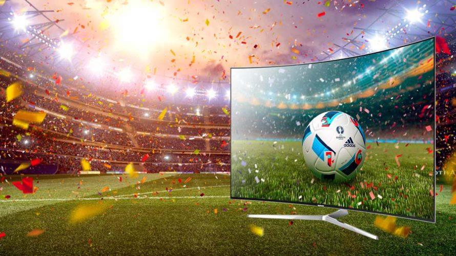 """65"""" TV-er til Fotball-EM"""