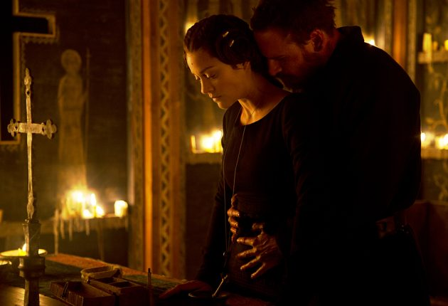 Stills from the film 'Macbeth' 2014.
