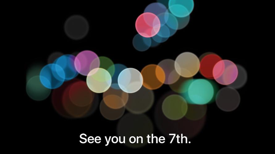 iPhone 7 lanseres 7. september