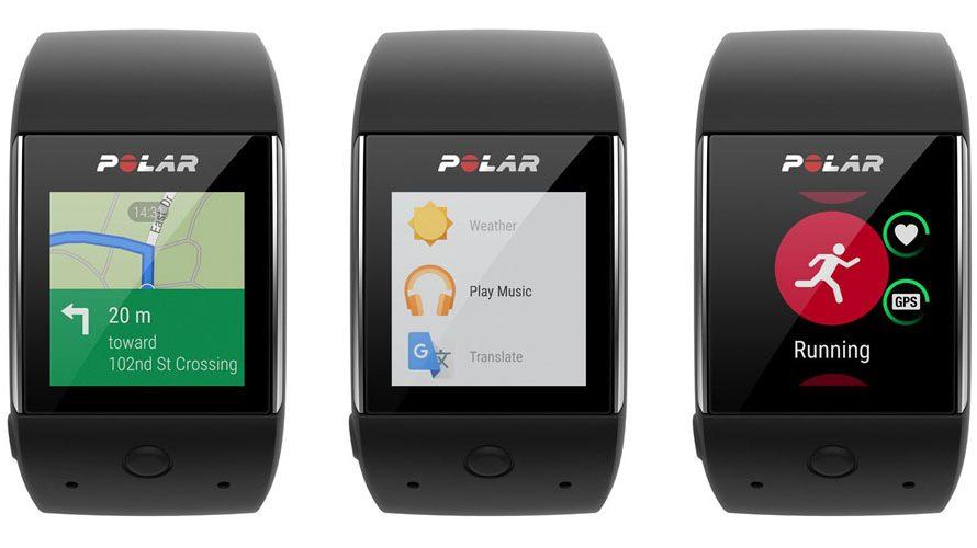 Polar nå med Android Wear