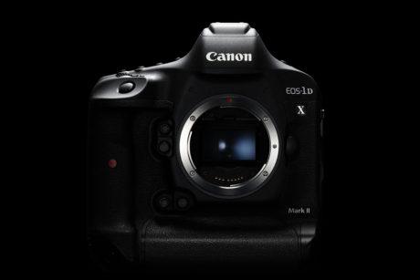 x_Canon EOS-1D X Mark II BODY down BK BEAUTY FRT