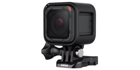 Hero5 Session er mindre og rimeligere enn Hero5 Black. Foto: GoPro