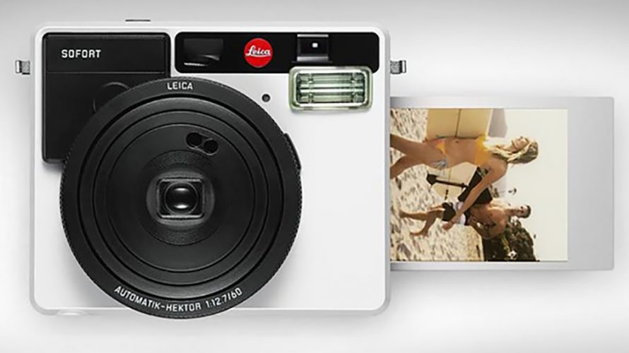 Leica hiver seg på instant-bølgen