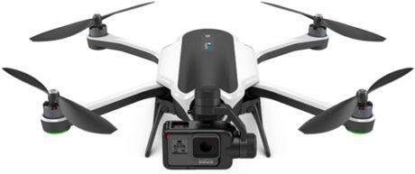 Karma er GoPros første drone. Gyroen sitter på et eget feste som kan tas av, for å montere kameraet på andre steder hvor stabilisering er nødvendig. Foto: GoPro