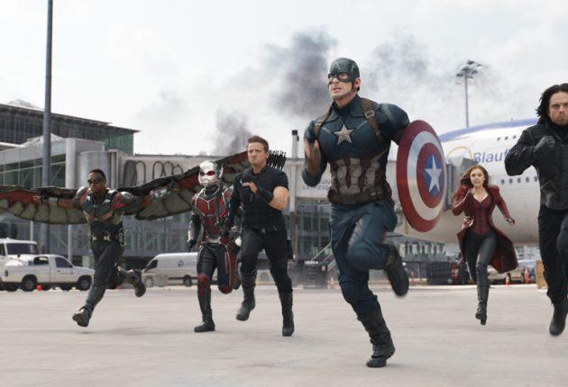 Captain America: Civil War 3D