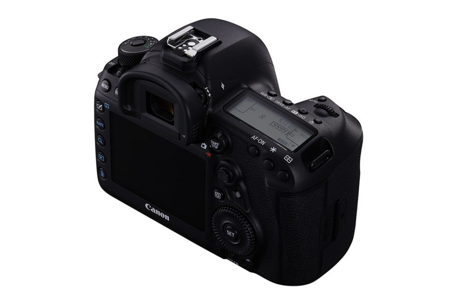 Klassisk Canon-layout. Foto: Canon