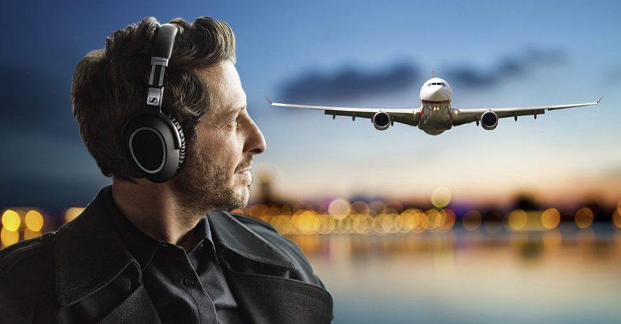 3 trådløse hodetelefoner med støyreduksjon