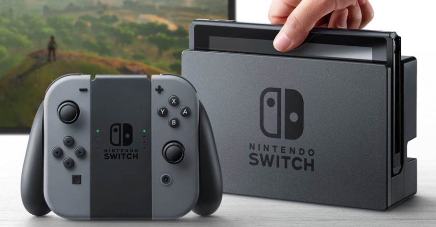 Nintendos neste konsoll heter Switch