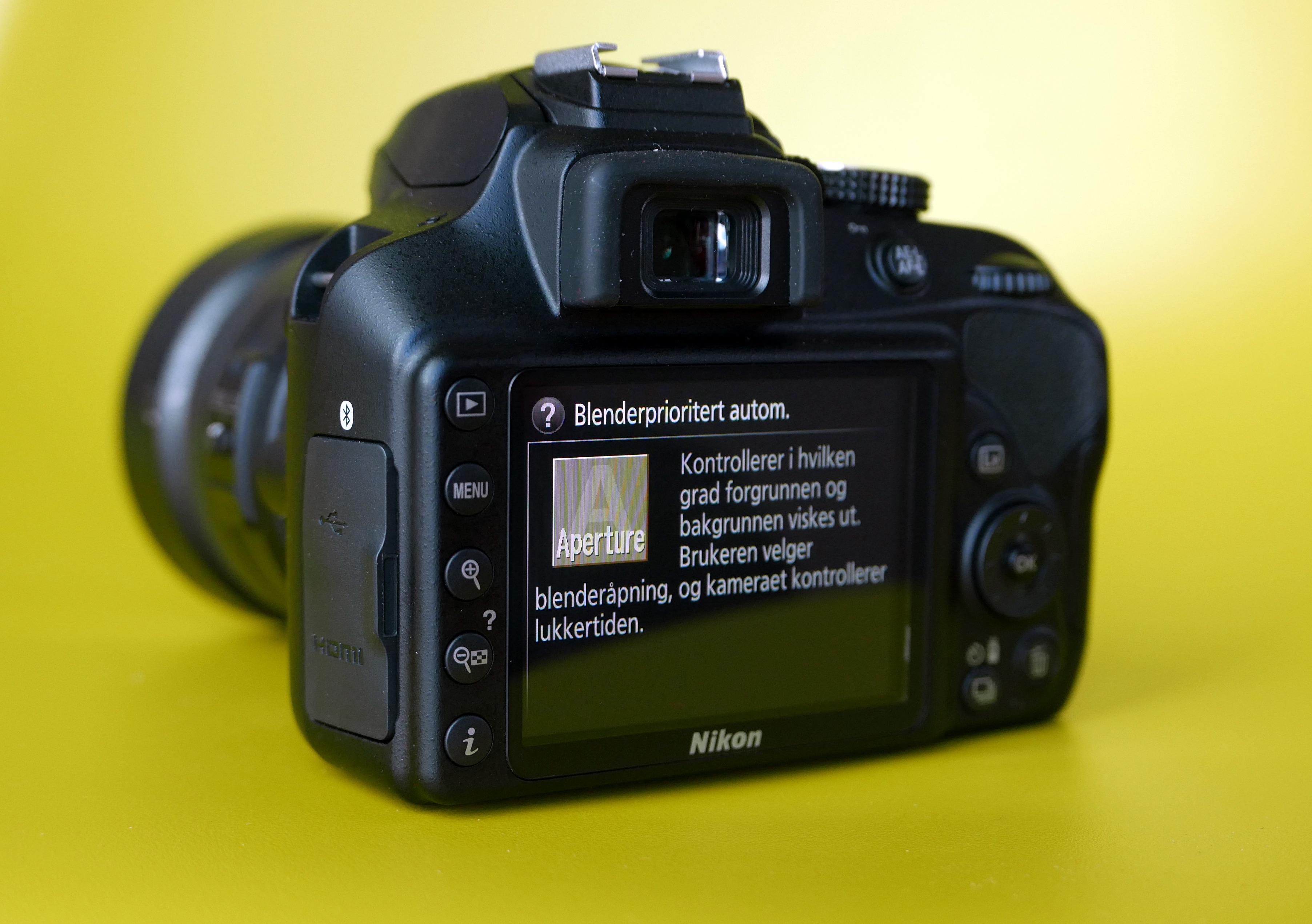 (Foto: Lasse Svendsen) En av fordelene med Nikon-kameraet, er hvor enkelt det er å lære å få finere bilder med det.