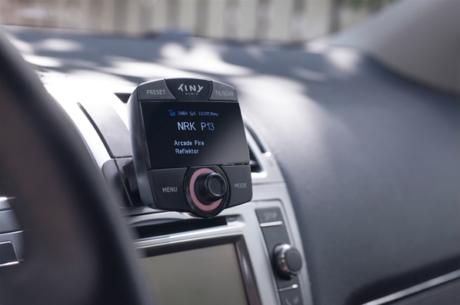 Tiny Audio C6 monteres enkelt i bilen. Foto: Tiny Audio