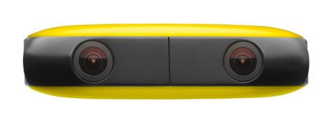 Vuze finnes i flere farger, her i gult. Foto: Vuze