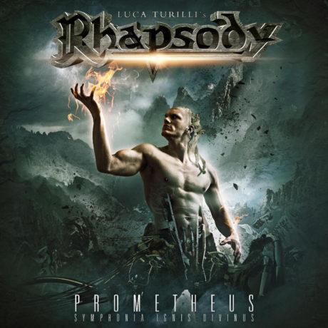 "Omslaget till skivan ""Prometheus, Symphonia Ignis Divinus"" med Luca Turilli's Rhapsody."